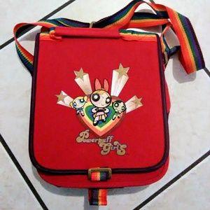 Handbags - RARE vintage Powerpuff girls convertible bag